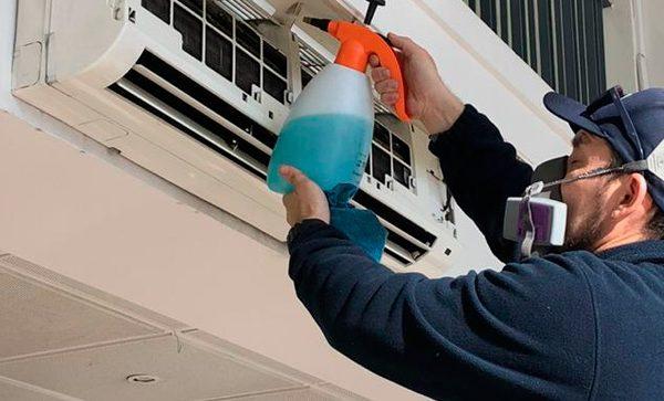 Higienización de Unidades Interiores de Clima